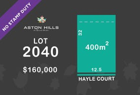 Lot 2040, 19 Hayle Court, Mount Barker, SA 5251