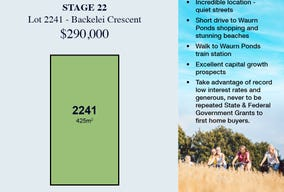 Lot 2241, 29 Backelei Crescent, Grovedale, Vic 3216