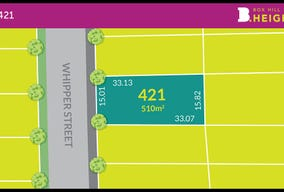 Lot 421 at Box Hill Heights, Box Hill, NSW 2765