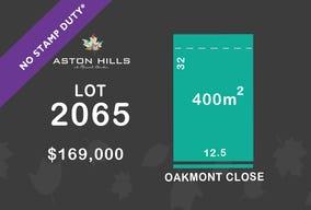 Lot 2065, Oakmont Close, Mount Barker, SA 5251
