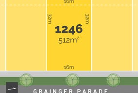Lot 1246, Grainger Parade, Lucas, Vic 3350