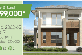Lot 2062-63 Home 7 Corner Barlow Boulevarde & Goldstone Way, Box Hill, NSW 2765