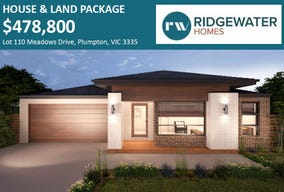 Lot 110  Meadows Drive, Plumpton, Vic 3335