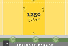 Lot 1250, Grainger Parade, Lucas, Vic 3350