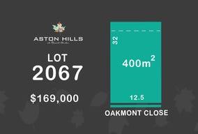 Lot 2067, Oakmont Close (Aston Hills), Mount Barker, SA 5251