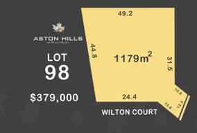 Lot 98, Wilton Court (Aston Hills), Mount Barker, SA 5251
