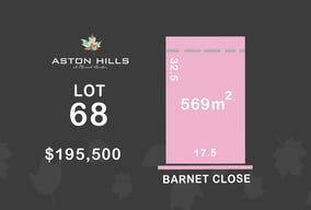 Lot 68, Barnet Close (Aston Hills), Mount Barker, SA 5251