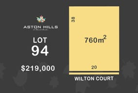 Lot 94, Wilton Court (Aston Hills), Mount Barker, SA 5251