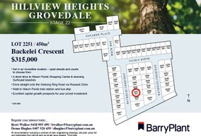 Lot 2251, Backelei Crescent, Grovedale, Vic 3216