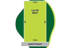 Lot 334 Award Crescent, Truganina, Vic 3029