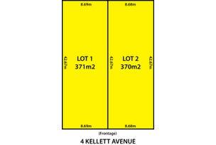 Lots 1 & 2, 4 Kellett Avenue, Lockleys, SA 5032