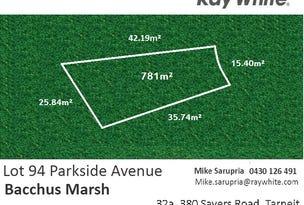 Lot 94 Parkside Avenue, Bacchus Marsh, Vic 3340