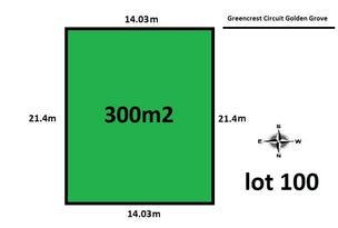 Lot 100 Greencrest Circuit, Golden Grove, SA 5125