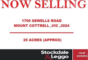 1700 Sewells Road, Mount Cottrell, Vic 3024