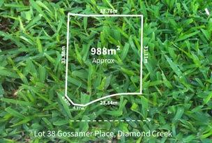Lot 38, Gossamer Place, Diamond Creek, Vic 3089