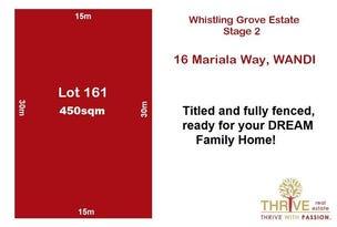 Lot 161, 16 Mariala Way, Wandi, WA 6167