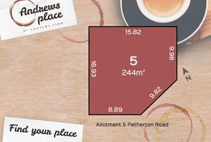 Allotment 5 Petherton Road, Andrews Farm, SA 5114