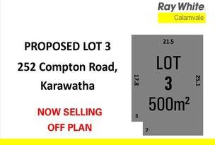Lot 3, 252 Compton Road, Karawatha, Qld 4117