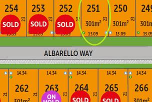 Lot 251, 15 Albarello Way, Dayton, WA 6055