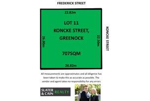 Lot 11, Koncke Street, Greenock, SA 5360