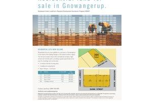 Lot 272 Quinn Street, Gnowangerup, WA 6335