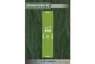 Lot 7, 40 Germantown Road, Lewiston, SA 5501