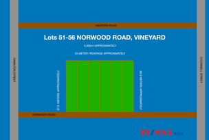 Lots 51 to 56 Norwood Street, Vineyard, NSW 2765