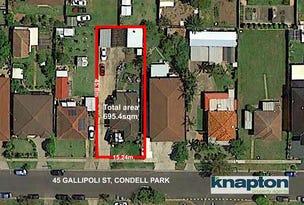 45 Gallipoli Street, Condell Park, NSW 2200