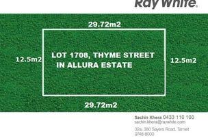 LOT 1708 Thyme Street, Truganina, Vic 3029