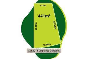 Lot 2013, Legrange Crescent, Plumpton, Vic 3335