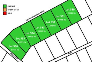 Lot 531 Eleven Mile Beach Road, Pink Lake, WA 6450