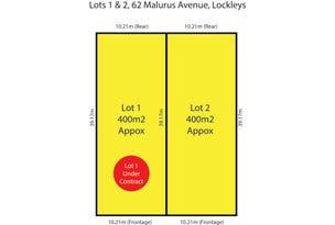 Lots 1 and 2 62 Malurus Avenue, Lockleys, SA 5032