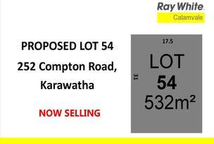 Lot 54, 252 Compton Road, Karawatha, Qld 4117