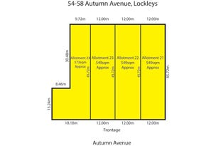 Proposed Lots 21,22,23,24, 54-58 Autumn Avenue, Lockleys, SA 5032