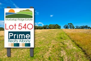 Lot 540, Berrima Road, Marbelup, WA 6330