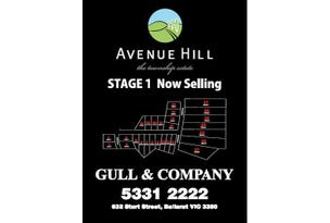Avenue Hill Estate, Cardigan, Vic 3352