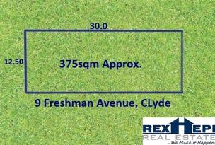 9 FRESHMAN AVENUE, Clyde, Vic 3978