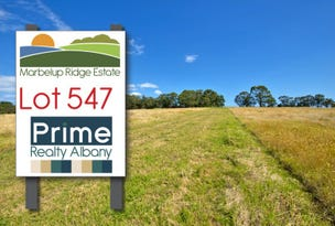 Lot 547, 152 Link Road, Marbelup, WA 6330