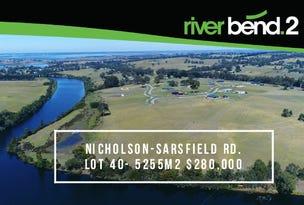 Lot 40/180 Nicholson-Sarsfield Road, Nicholson, Vic 3882
