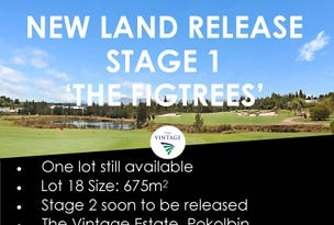 Stage 1 Release The Figtrees at The Vintage, Pokolbin, NSW 2320
