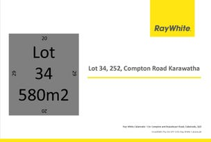 Lot 34, 252 Compton Rd, Karawatha, Qld 4117