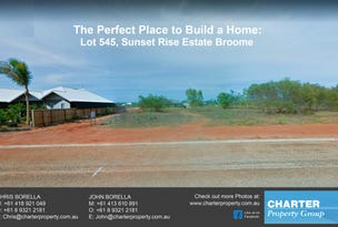Sunset Rise Estate Multiple Lots For Sale, Cable Beach, WA 6726