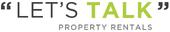 Let's talk property rentals