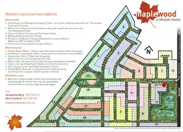 Maplewood Estate Melton South