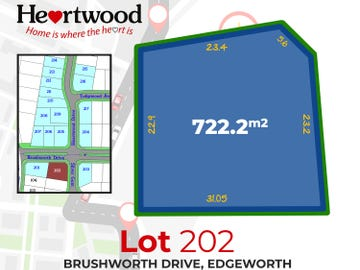 Lot. 202 Brushworth Drive, Edgeworth, NSW 2285