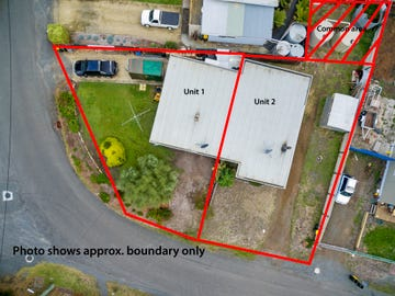 Units 1 & 2/50 Susans Bay Road, Primrose Sands, Tas 7173