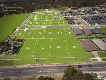 Lot 101 - 129, 190 Johns Road, Wadalba, NSW 2259