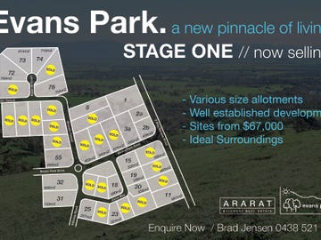 Lot 74, Reserve Court, Ararat, Vic 3377
