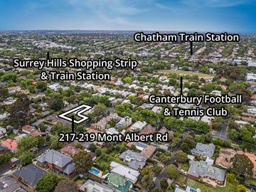 217-219 Mont Albert Road, Surrey Hills, Vic 3127