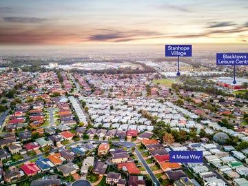4 Mesa Way, Stanhope Gardens, NSW 2768